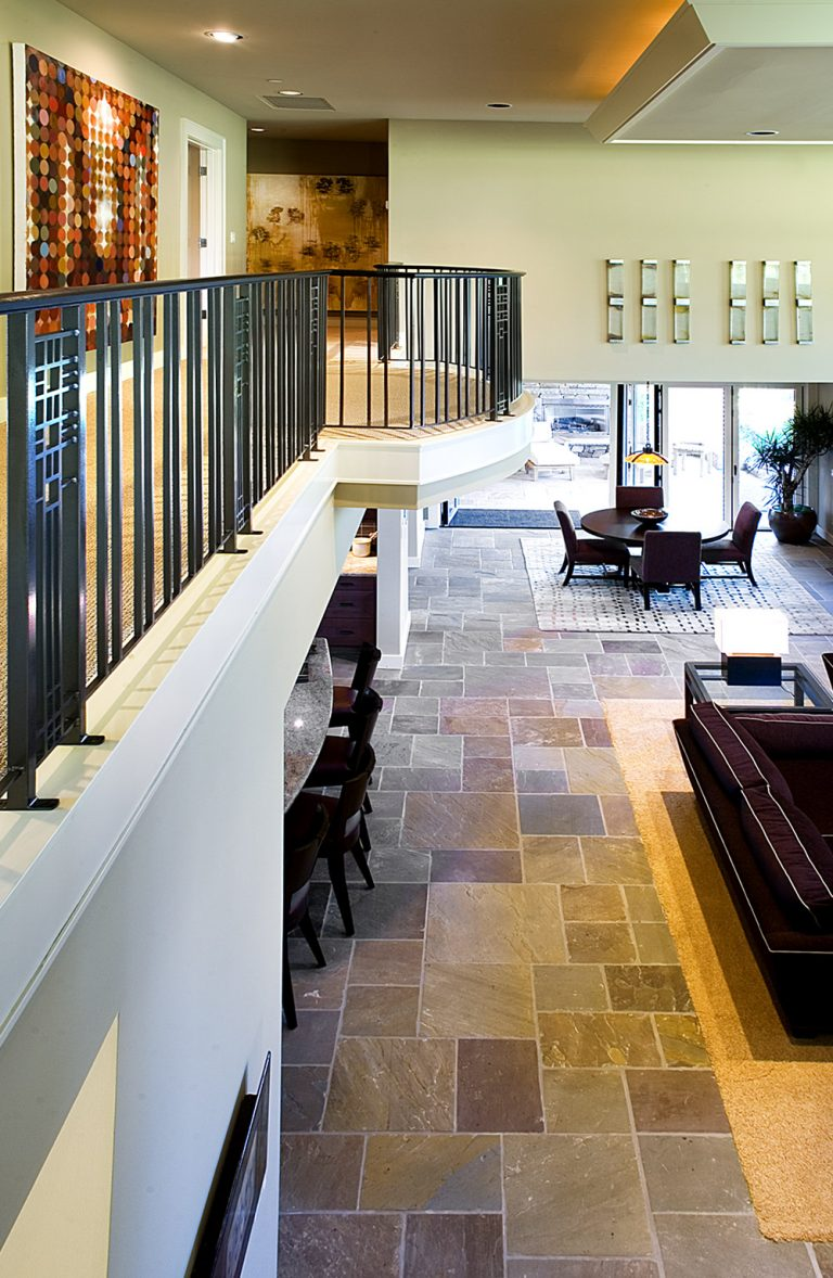 Interior design, contemporary balcony