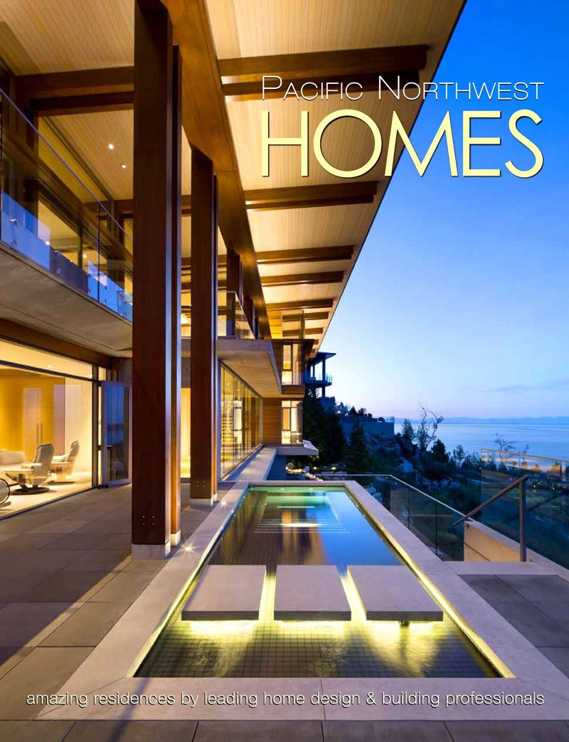 Cover of Pacific Northwest Homes magazine featuring Dana Foster Interiors