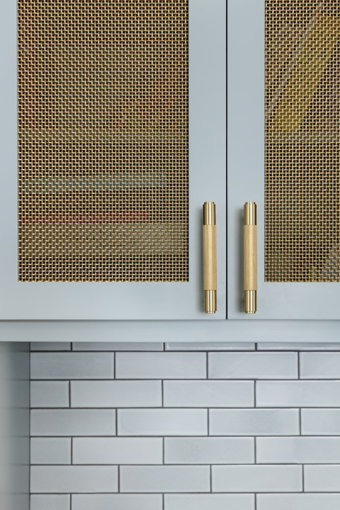 Kitchen renovation, new modern cupboards